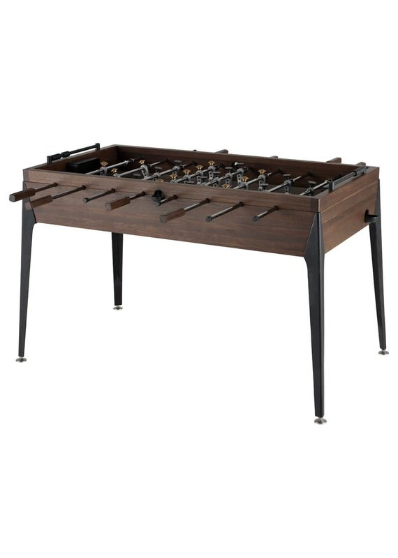 Nuevo Foosball Table in Smoked - Black