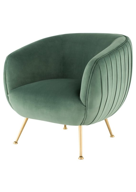 Nuevo Sofia Occasional Chair in Moss