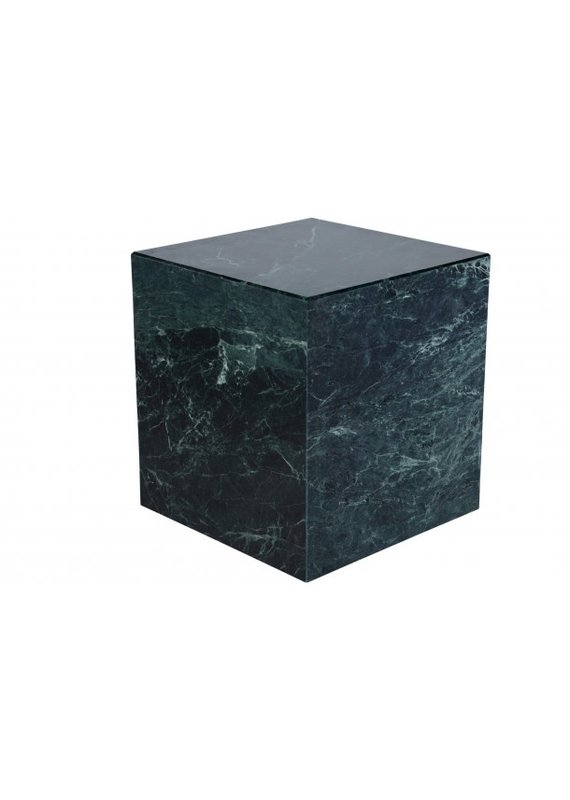 Nuevo Matisse Side Table in Green Marble