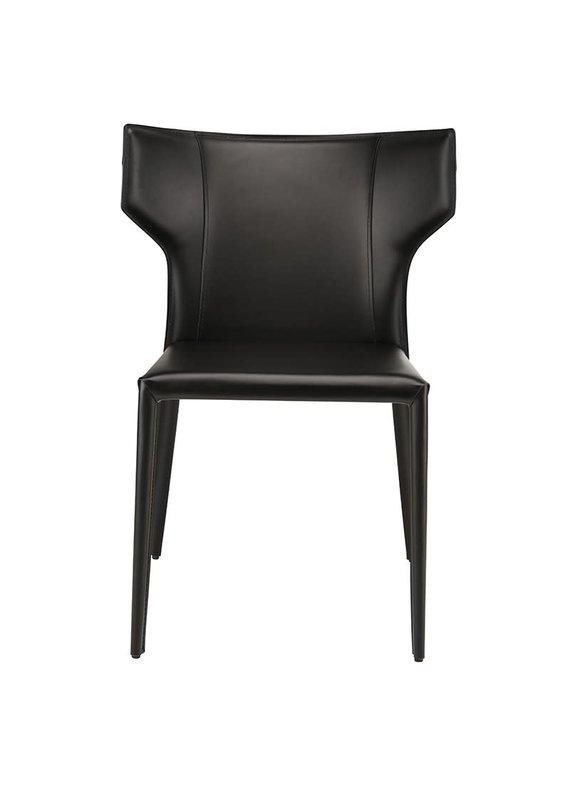 Nuevo Wayne Dining Chair in Black