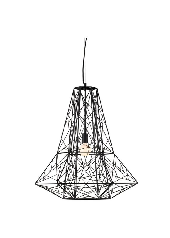 Nuevo Apollo Large Pendant in Black