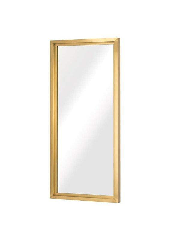 Nuevo Glam Floor Mirror in Gold