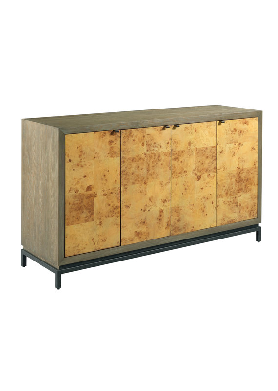 Hammary Mappa Burl Cabinet