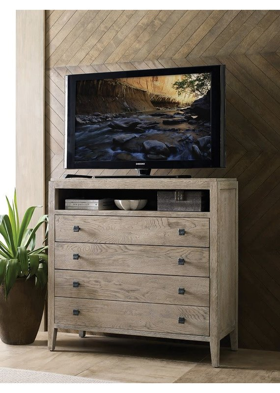 Kincaid Banner Media Chest in Sandstone
