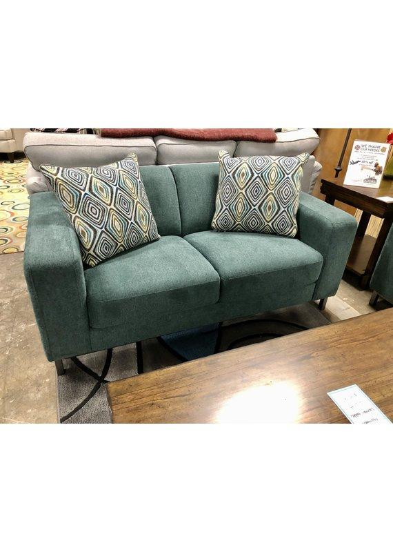 Global Home Global Home Furniture Green Loveseat