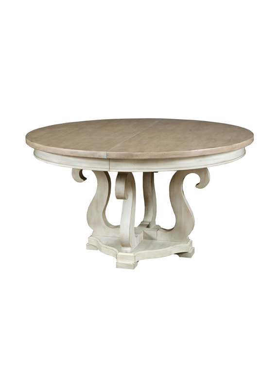 American Drew Litchfield Sussex round dining table