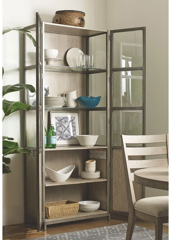 American Drew West Fork Blackwell Display Cabinet