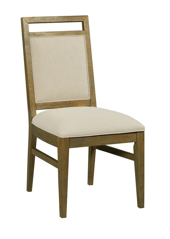 Kincaid The Nook Brushed Oak Upholstered Side Chair