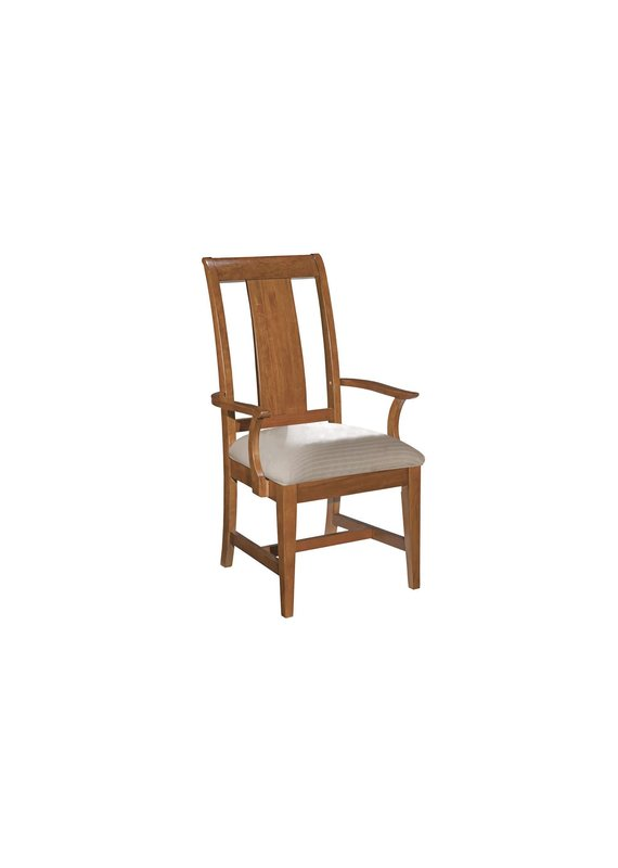 Kincaid Cherry Park Arm Chair Upholstered Seat