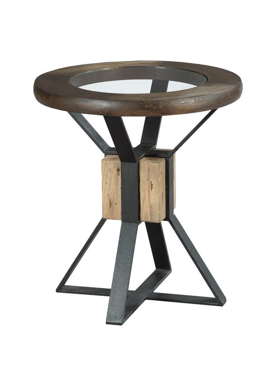 Hammary Junction Compass End Table