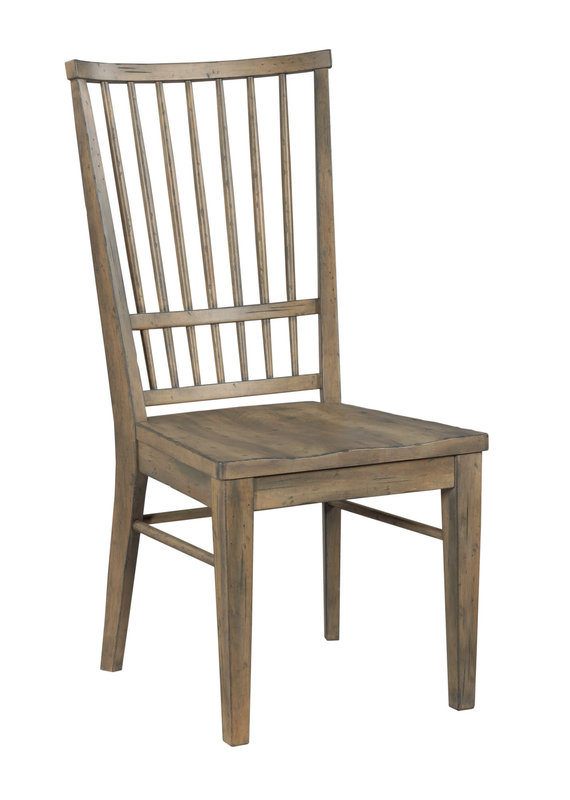 Kincaid Cooper Side Chair in Barley Finish
