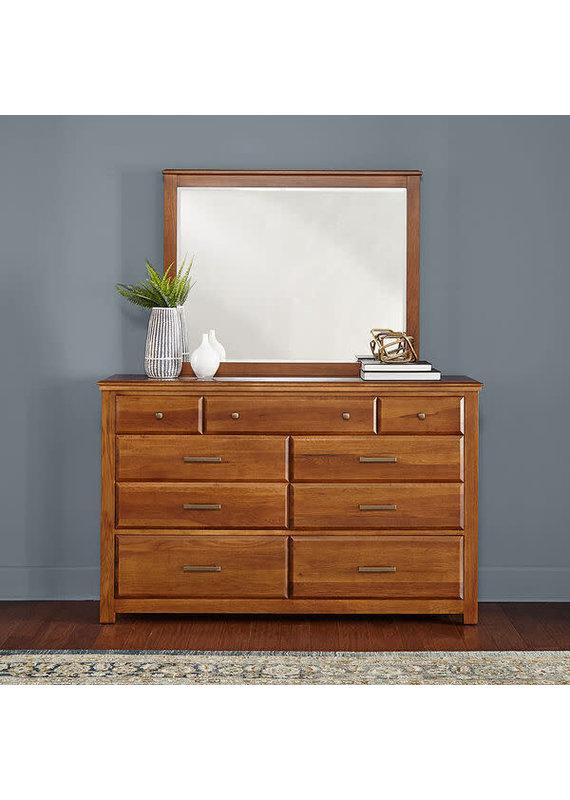 A-America Camas (Warm Hickory) Dresser