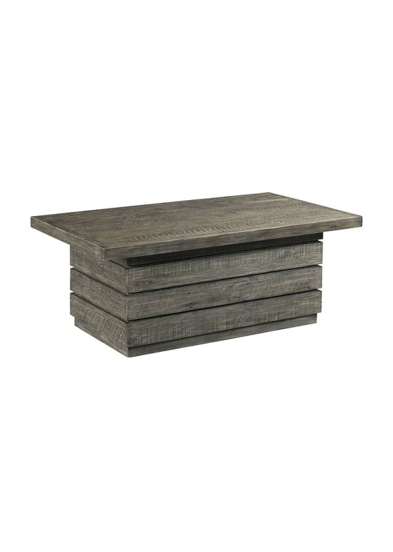 Hammary Reclamation Place Shiplap Rectangular Cocktail Table
