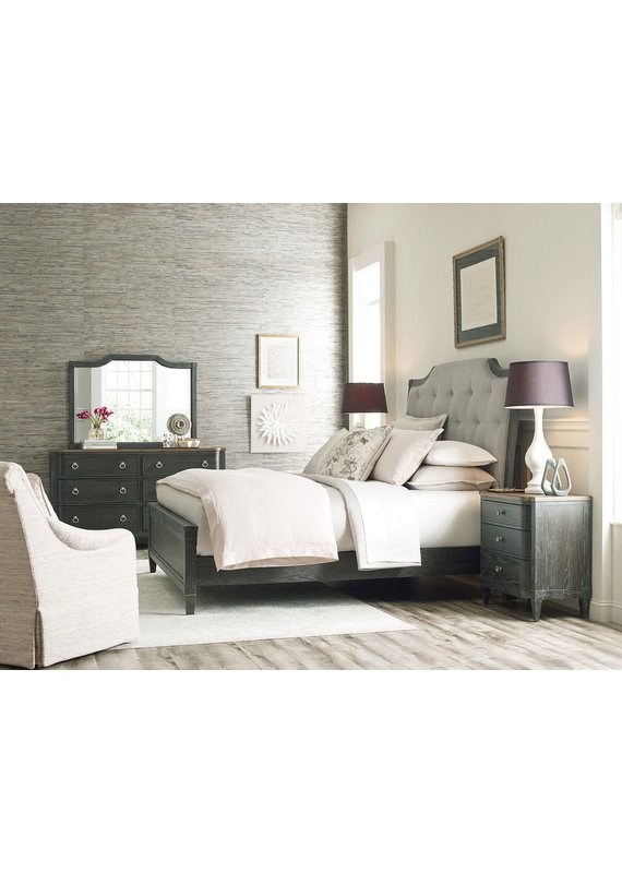 American Drew Ardennes Lorraine Queen Upholstered Complete Bed