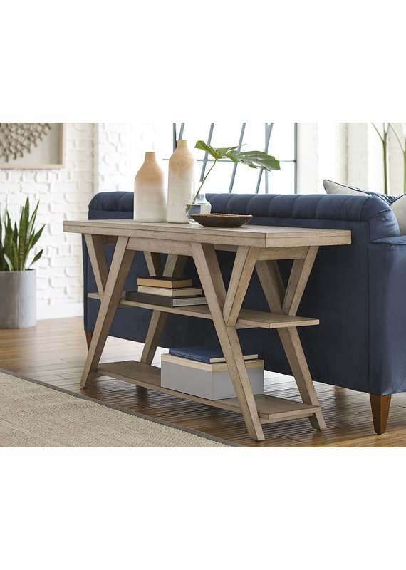 Hammary Exposition Sofa Table