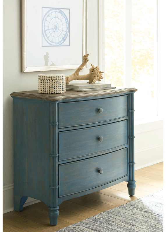 American Drew Litchfield Sundown Blue Accent Chest