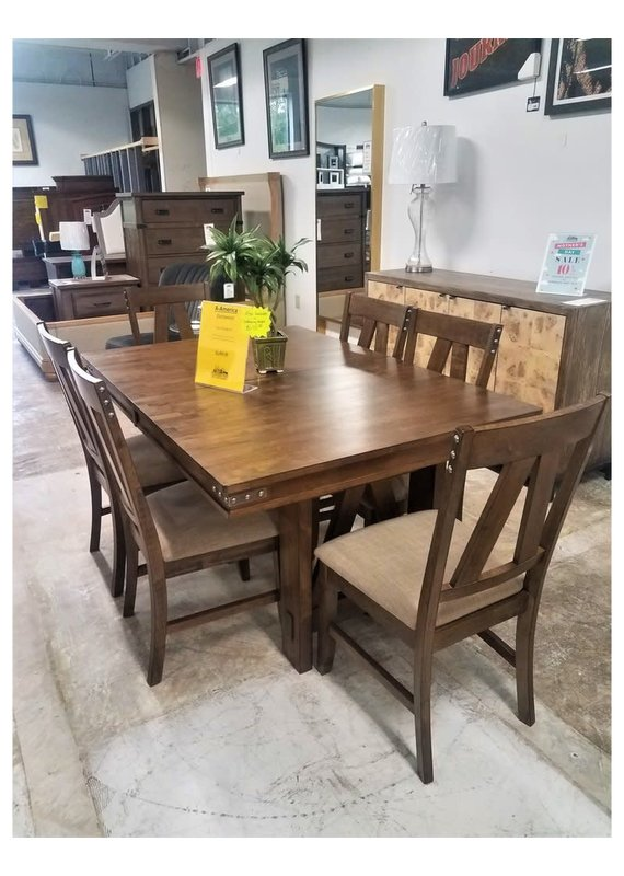 A-America Eastwood Trestle Table