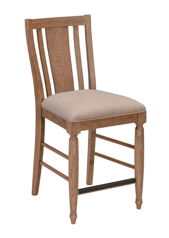 A-America McMillan Tawny Brown Upholstered Dining Chair
