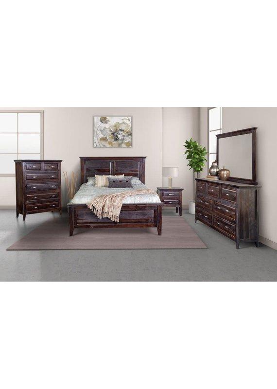 Porter Designs Sonora Midnight Queen Complete Bed