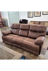 Emerald Home Emerald Home Double Reclining Microfiber Sofa