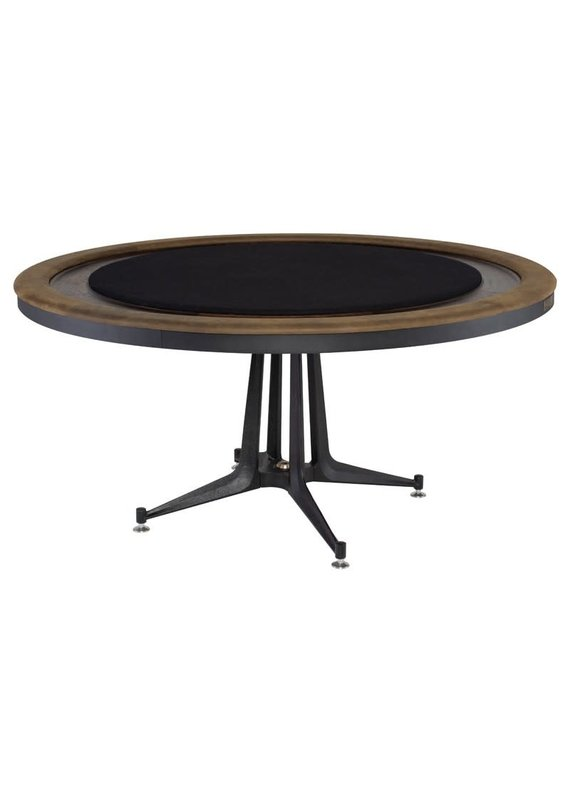 Nuevo District Eight Smoked Poker Table