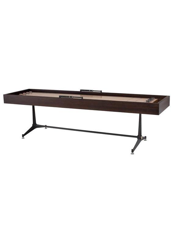 Nuevo District Eight Smoked Shuffleboard Gaming Table
