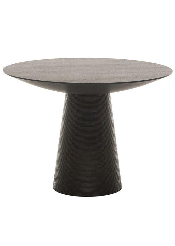 Nuevo Dania Dining Table in Black