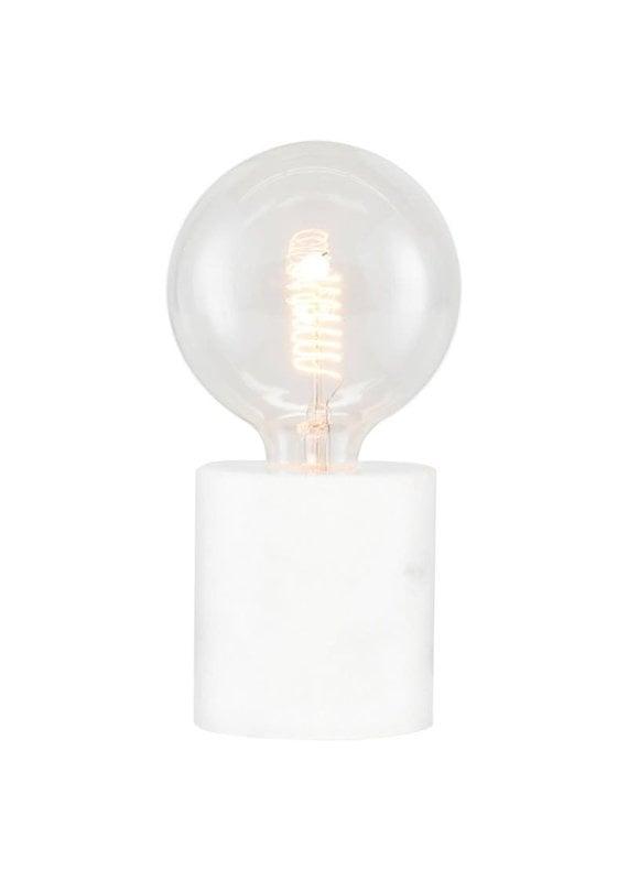 Nuevo Nuevo Pia Table Light - White Marble