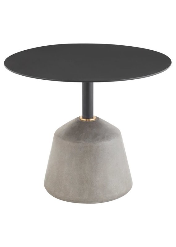 Nuevo Exeter Side Table in Black