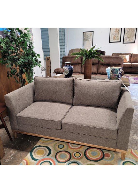 VND Furniture Gracio Apartment Sofa in Gray & Oak