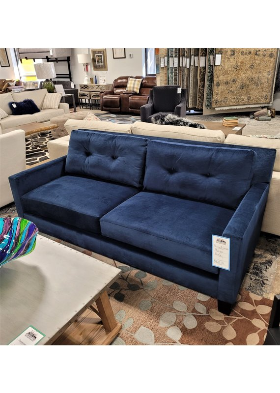 Stone & Leigh Madison Sofa in Blue Empire III