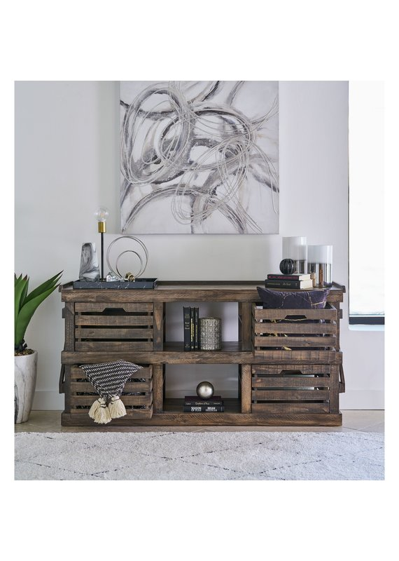 Elements Reed Media Console
