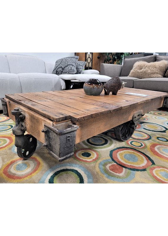 Lineberry North Wilkesboro Large Vintage Furniture cart