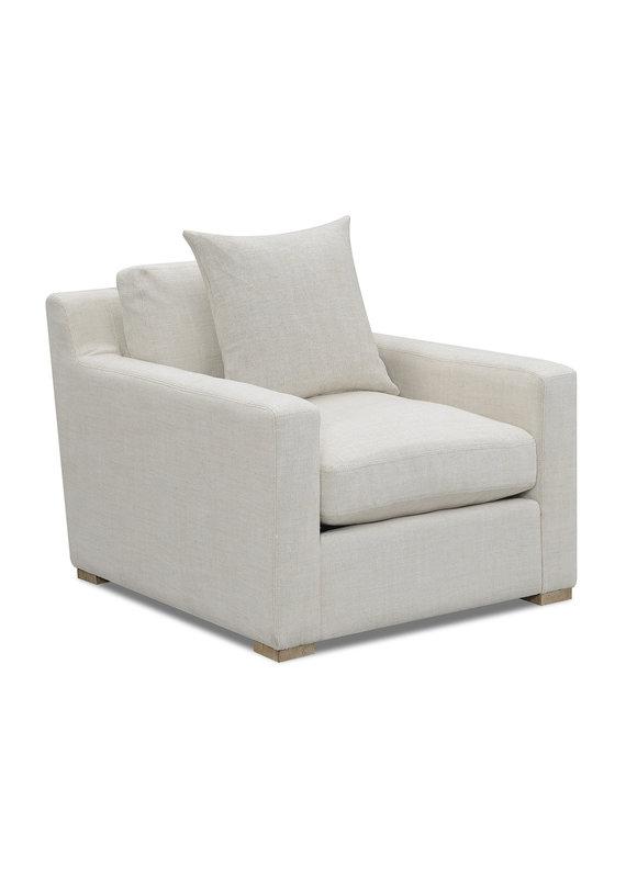 Salt Flat Laurel Chair in Oat White
