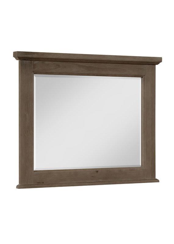 Vaughan Bassett Sawmill Saddle Grey Mirror