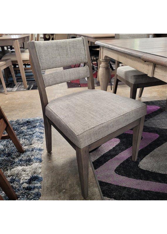 True Modern Upholstered Slat Back Dining Chair