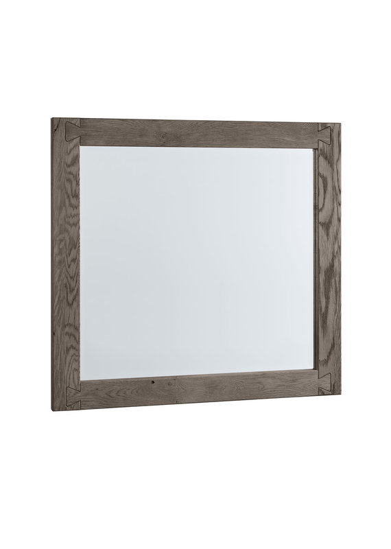Vaughan-Bassett Dovetail Mystic Grey Landscape Mirror