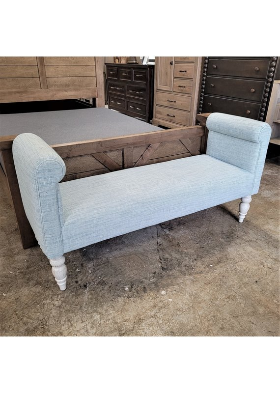 Kincaid Henley Accent Bench in Sea Mist