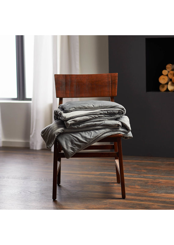 Malouf Malouf Woven Anchor Weighted Blanket,