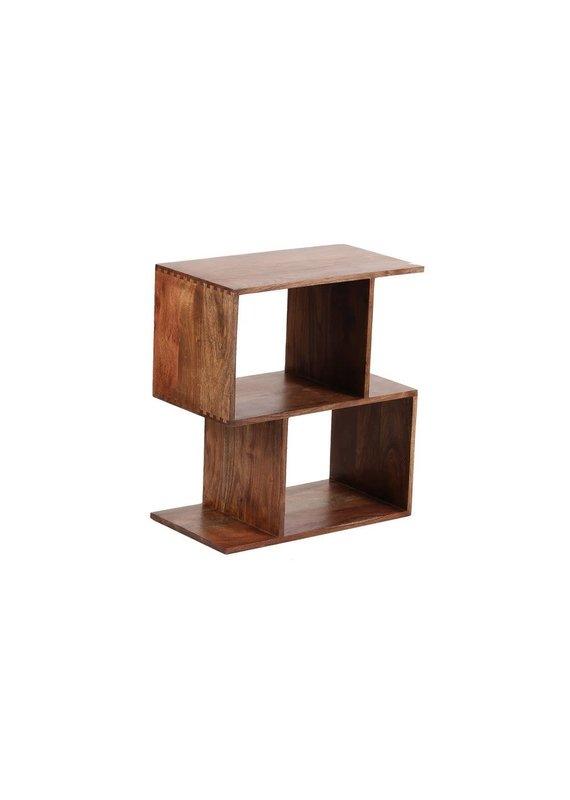 Porter Designs Portola Walnut 2 Cube Bookcase
