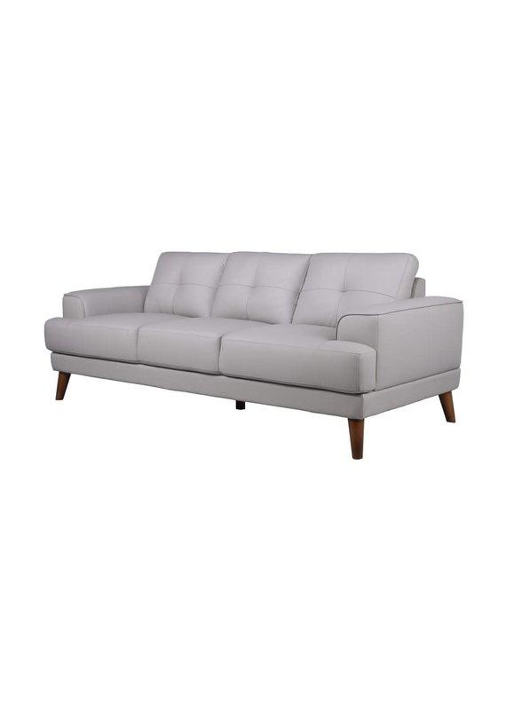 Porter Designs Anzio Cream Leather Sofa