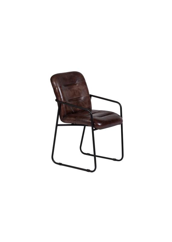 Porter Designs Alger Cognac Leather Chair