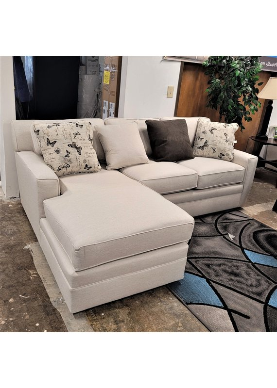 Stone & Leigh Riley Sectional Chofa Left Chaise in Max Beige