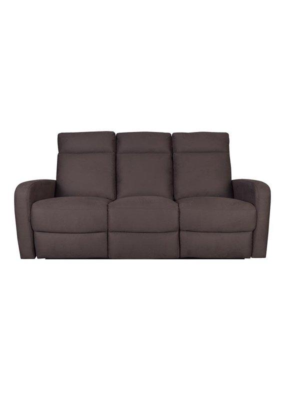 Porter Designs Caleb Brown Microfiber Power Reclining Sofa