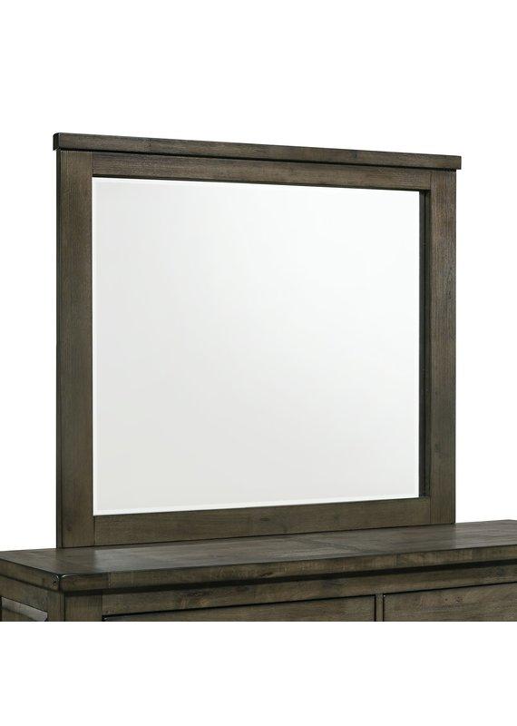 Elements Maverick Mirror in Grey