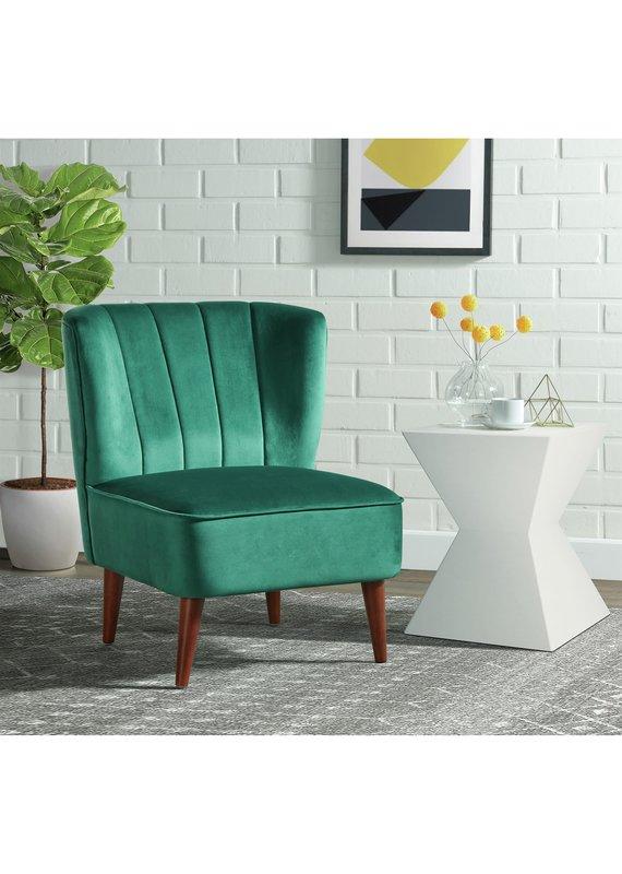 Elements Joss Chair in Broadway Emerald