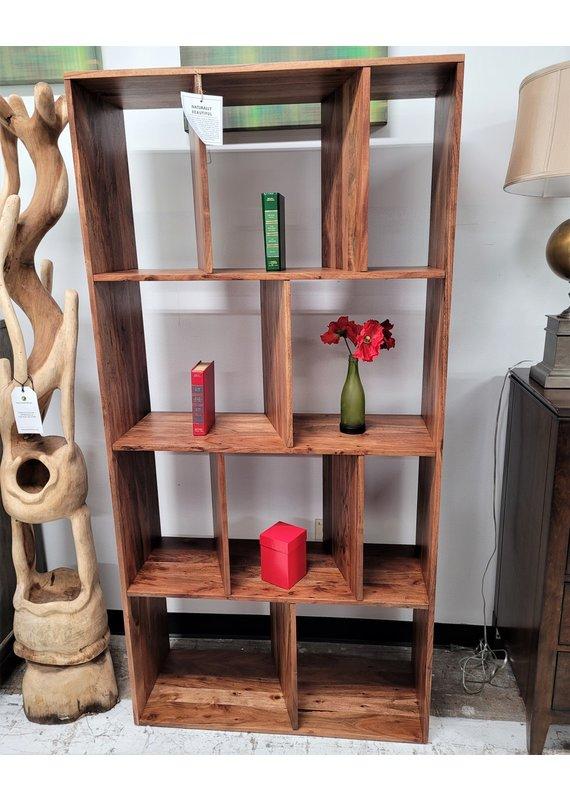 Style N Living Hixon Natural Bookshelf