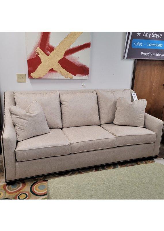 Kincaid Edison Sofa in Grande Linen