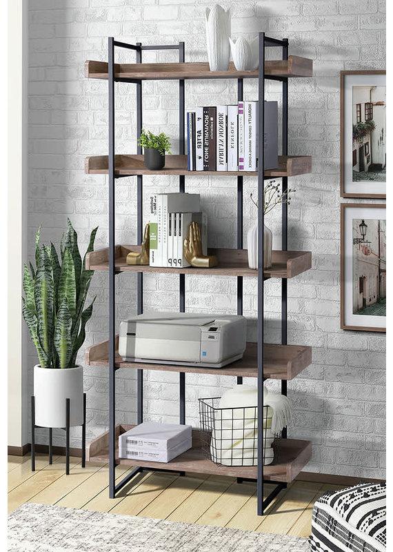 Elements Preston Bookshelf in Oak