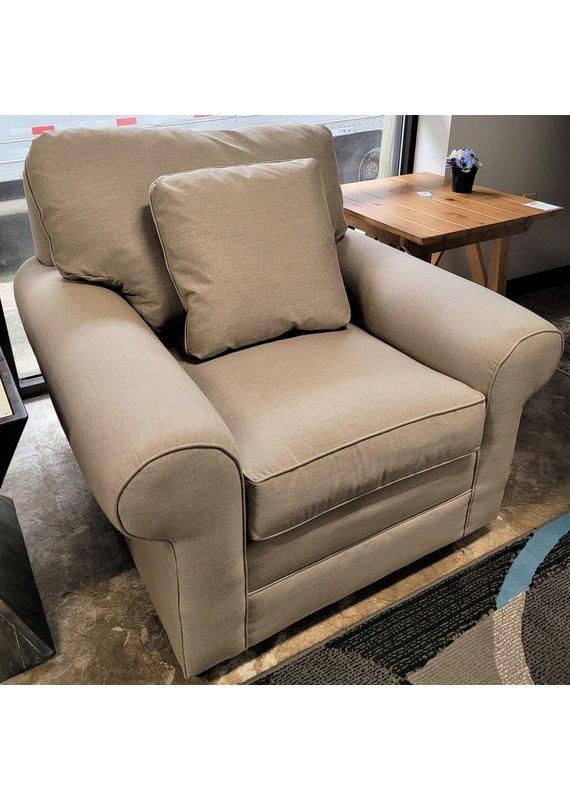 Kincaid Chair in Cast Sunbrella Ash